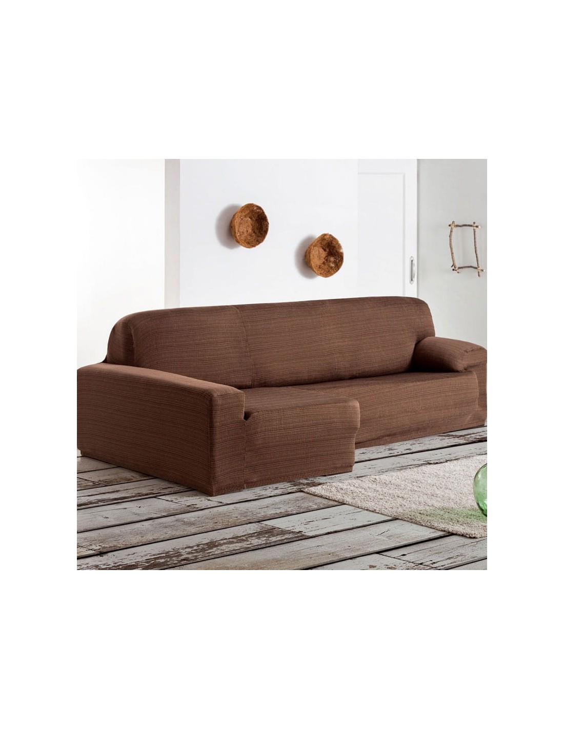 Funda sof chaise longue eysa brazo largo aquiles sofundas for Sofa chester chaise longue