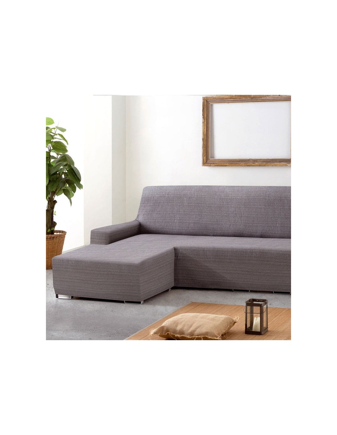 Funda sof chaise longue eysa brazo corto aquiles sofundas for Sofa chester chaise longue