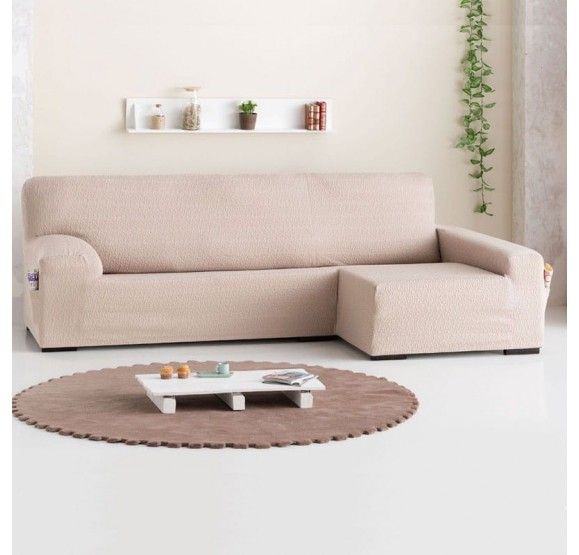 Funda Sofá Chaise Longue Eysa Brazo Largo Tendre